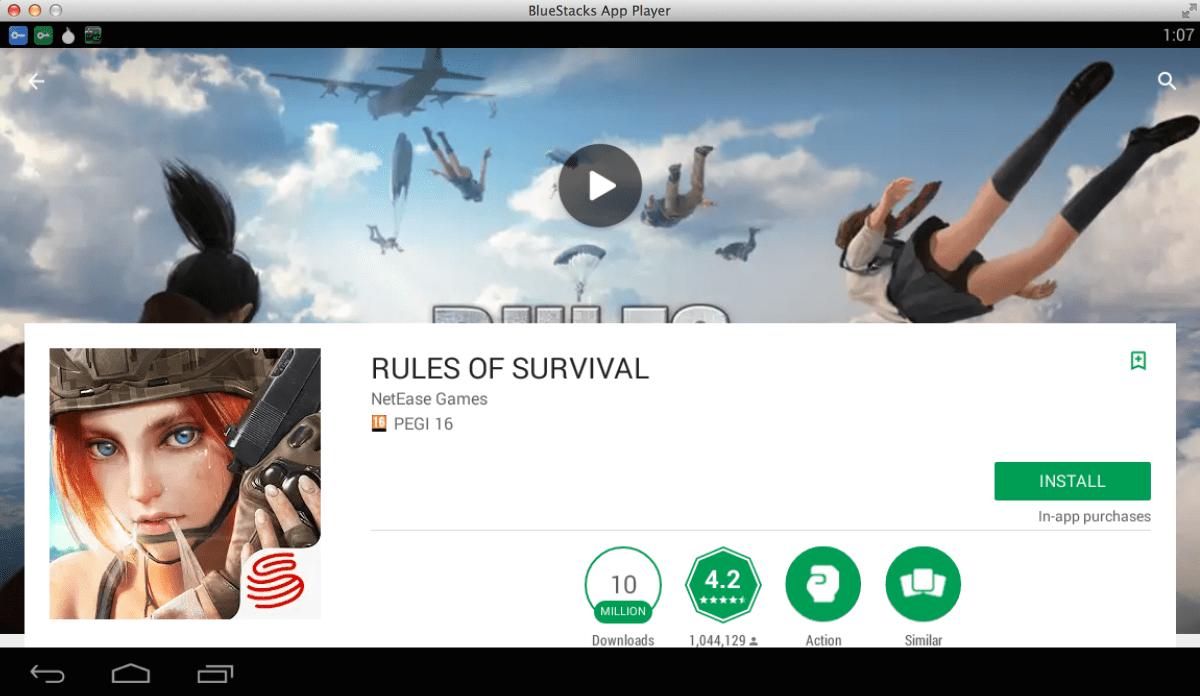 rules of survival pour pc