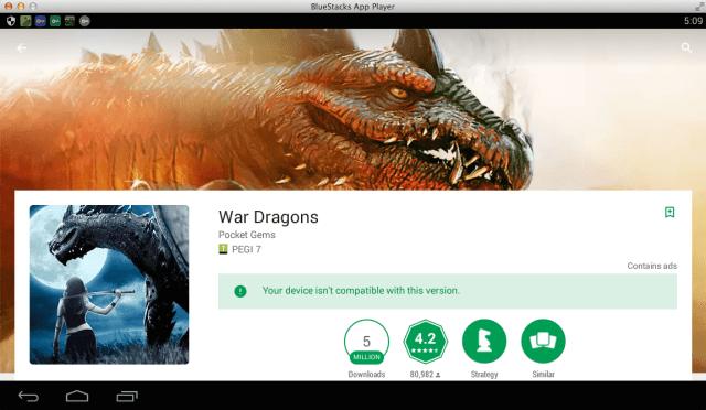 war dragons pour pc windows mac