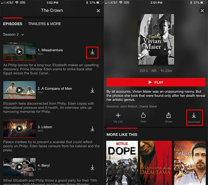 Comment télécharger des vidéos et des spectacles à partir de Netflix? Netflix Downloader