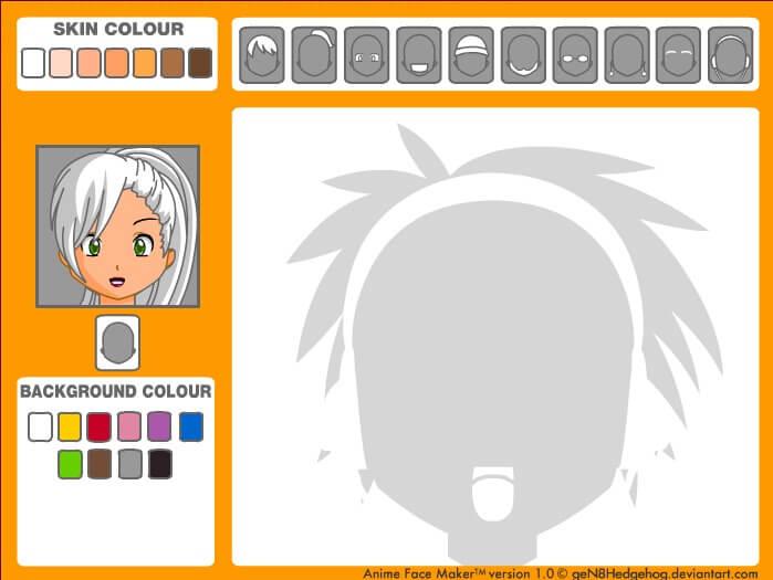 2. Créateur de visage Avatar | Manga