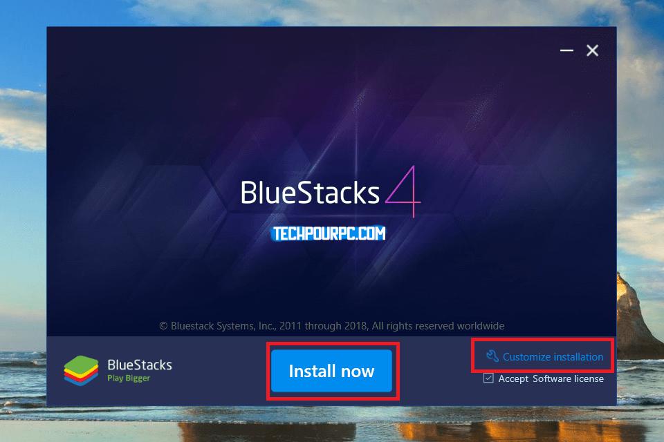 Installation Bleustacks 4