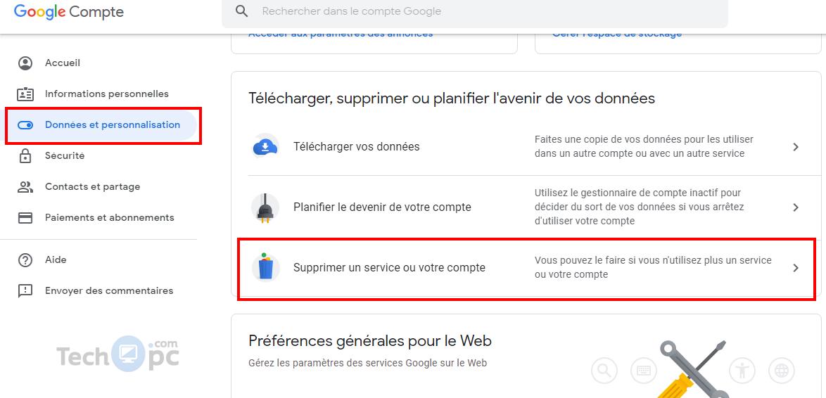 Supprimer Compte Gmail Un Guide Détaillé étape Par étape 2019