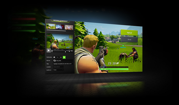 GeForce Experience, capture video jeux