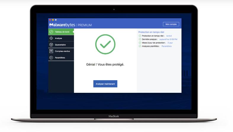 MalwareBytes pour Macbook Pro