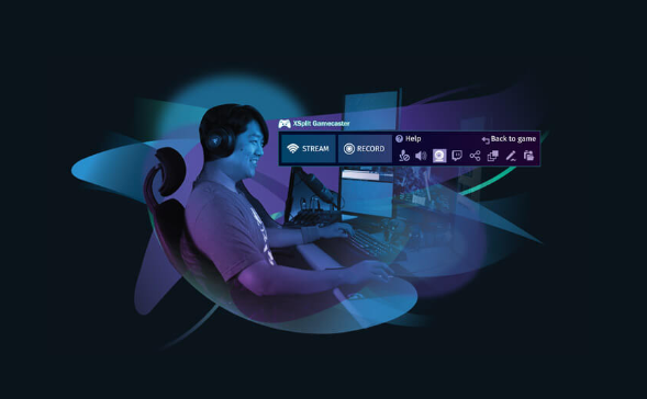 Logiciel d'enregistrement de jeu XSplit Gamecaster