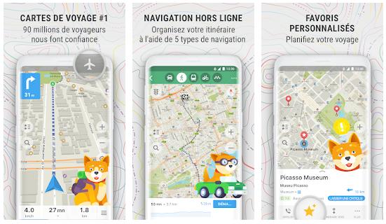 MAPS.ME – Cartes hors ligne et itinéraire routier