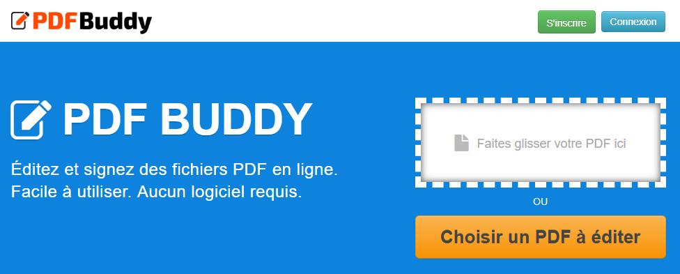éditer les fichier PDF avec Buddy 2019.