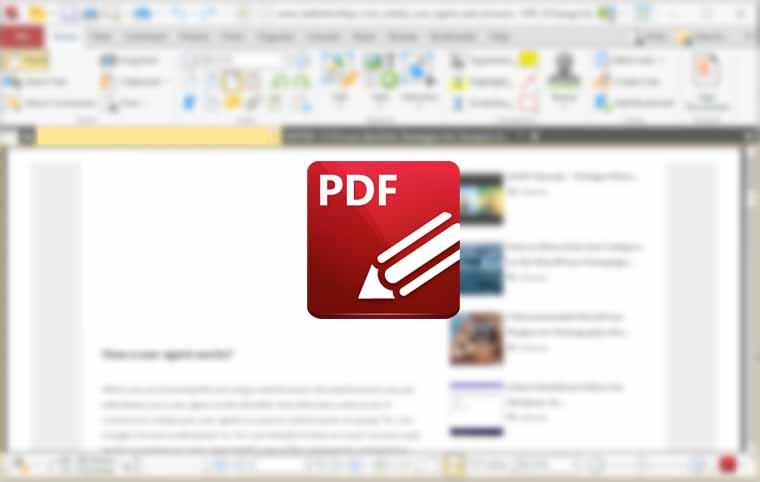 PDF XChange Editor Windows 10