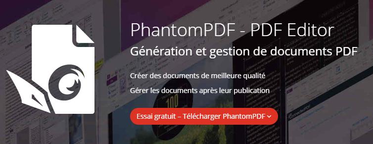 PhantomPDF - PDF Editor