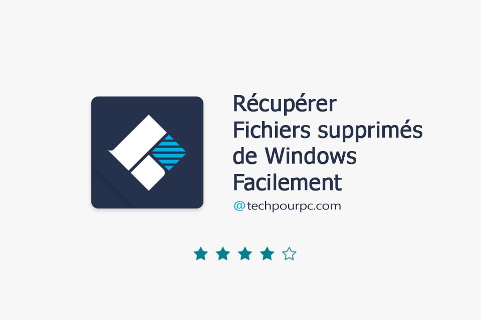 Recoverit Data recovery avis, comment récupérer les fichiers supprimés de windows 10/7/8.1