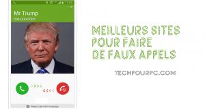 SITES WEB POUR PASSER DE FAUX APPELS GRATUITS.