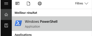 Powershell windows 10