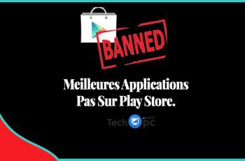 Application Pas sur Play Store