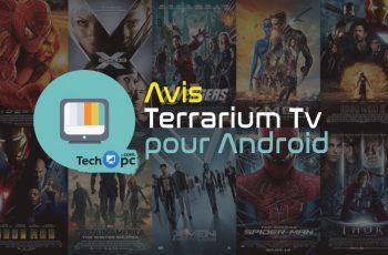 Avis Terrarium TV Android