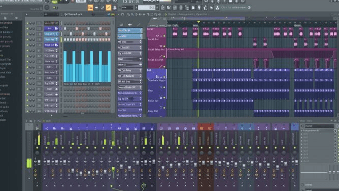 FL Studio, outils production musical