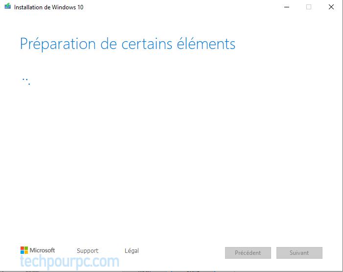 Windows 10 Version 1809 Outil de création de médias