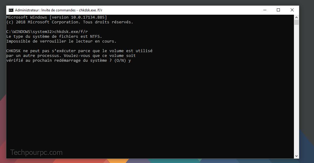 Invite Commande Windows 10