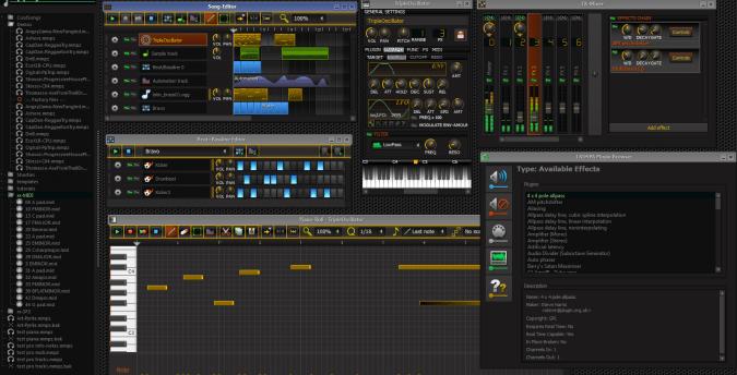LMMS, Logiciel de production musical
