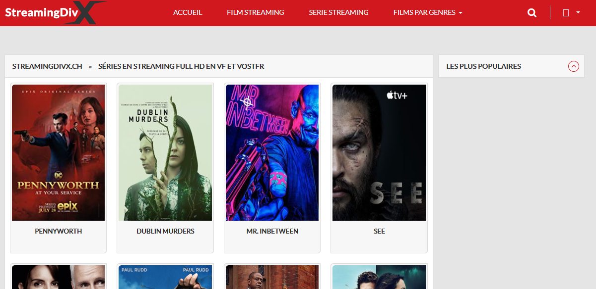 STREAMINGDIVX CH SÉRIES EN STREAMING FULL HD EN VF ET VOSTFR,