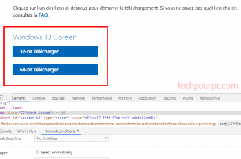 Télécharger windows 10 ISO 32Bit et 64Bit