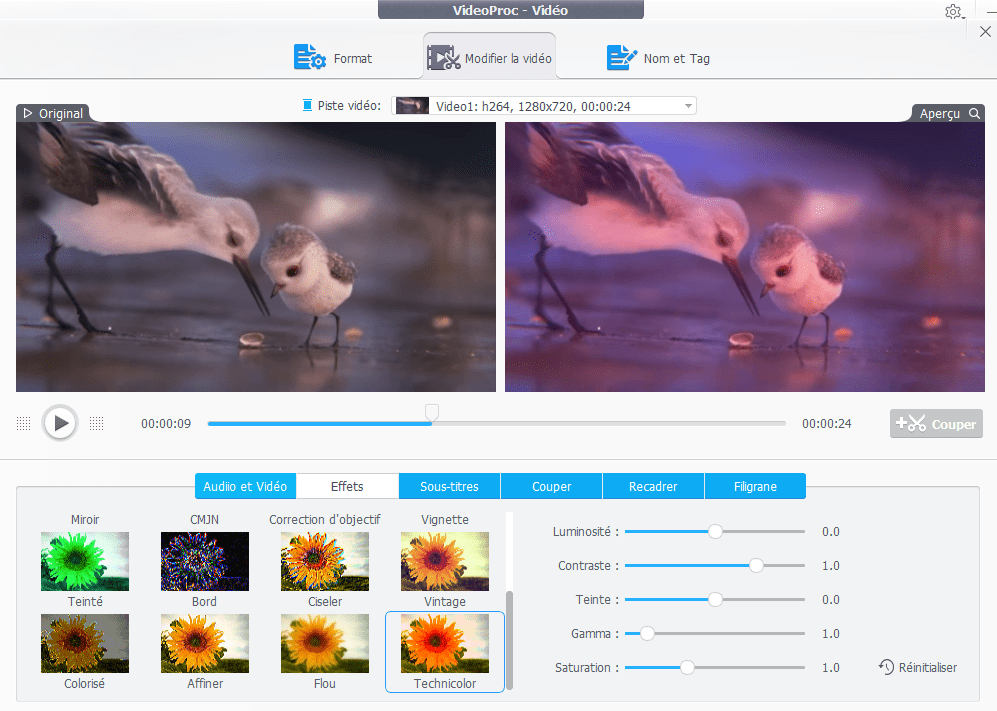 VideoProc Effects