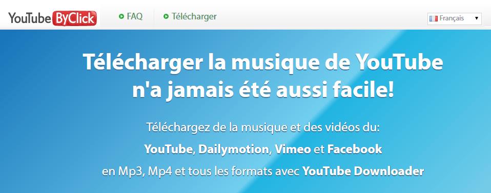 YoutubebyClick, Télécharger albums musique complets gratuitement,