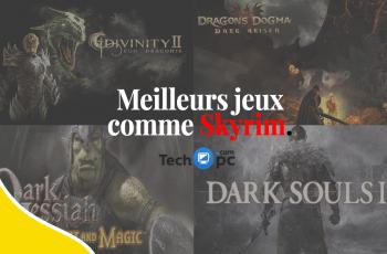 meilleurs jeux comme Skyrim,