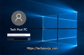 Logiciels récupération mot de passe Windows