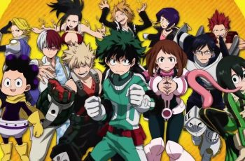 My hero academia, Anime Netflix
