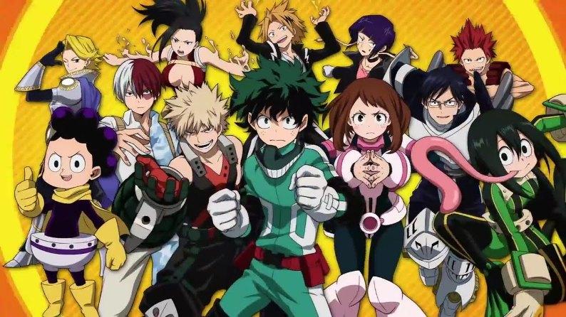 My hero academia, Anime Netflix