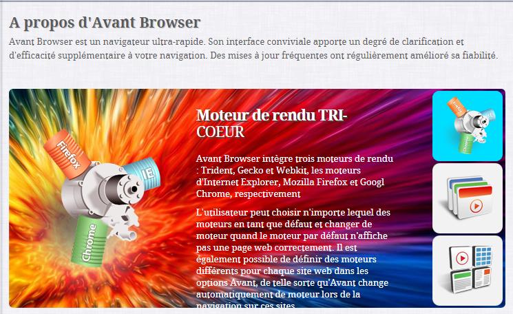 Avant Browser sans pub, Navigateur Sans Pub, Navigateur Super Rapide