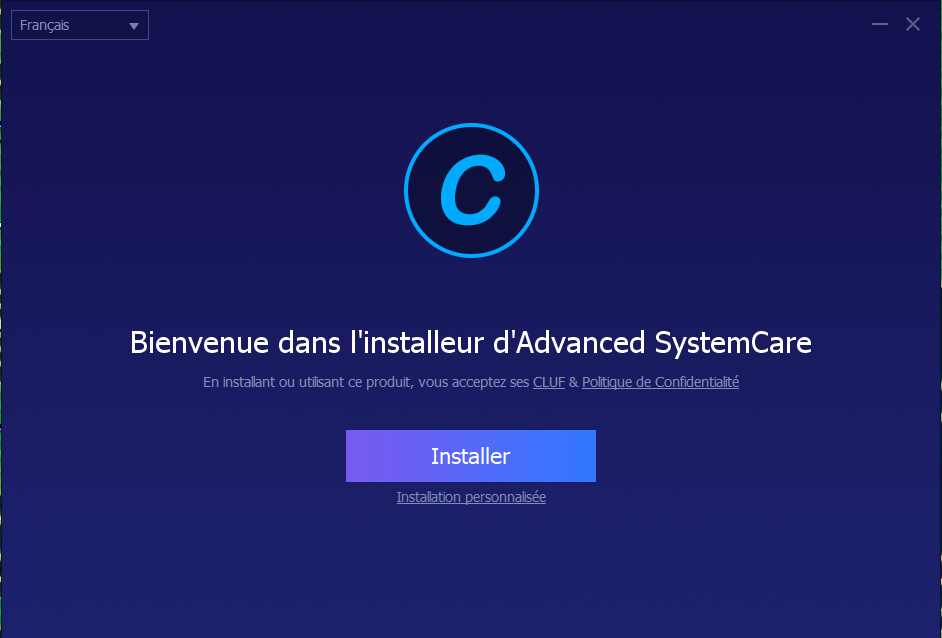 Installation advanced SystemCare Pro, Advaced SystemCare Pro avis,