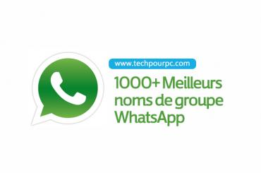 Noms groupes whatsapp, Meilleurs noms groupes WhatsApp, noms groupes whatsapp,