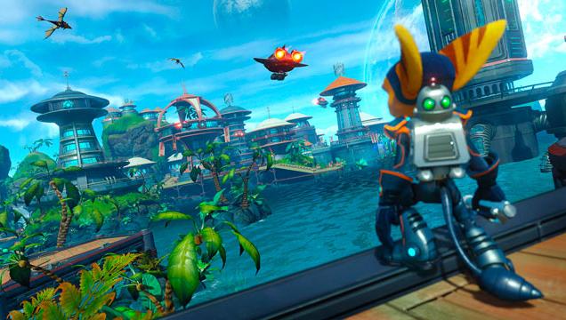 24. Ratchet and Clank, jeux originales PS4, meilleur jeu PS4