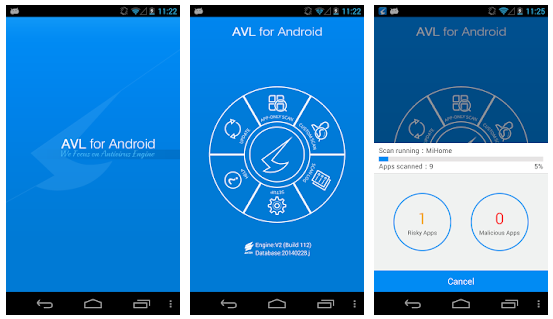 AVL Antivirus pour Android, AVL Antivirus Android, AVL Antivirus gratuit Android