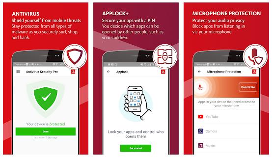 Avira Android, Antivirus Avira pour mobile, Avira Antivirus mobile