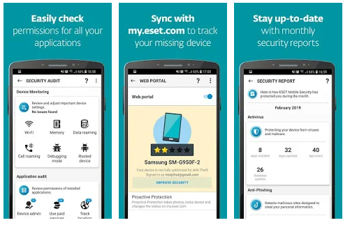 ESET ANDROID, ESET Antivirus pour ANDROID