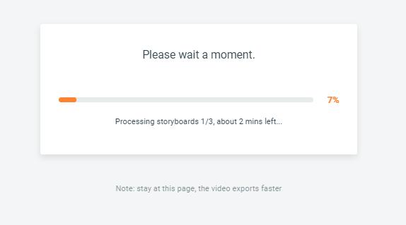 Flexclip export vidéo