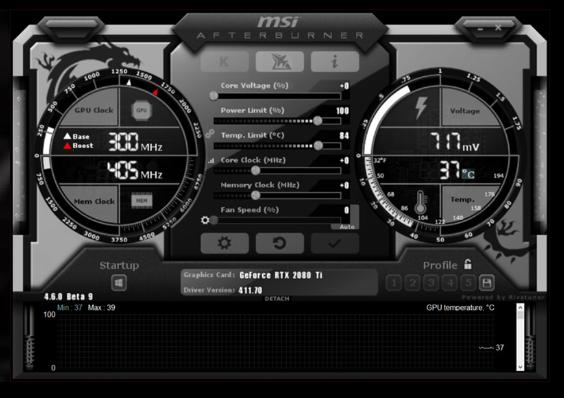 MSI Afterburner, accélérateur de jeux, améliorer performance jeux PC