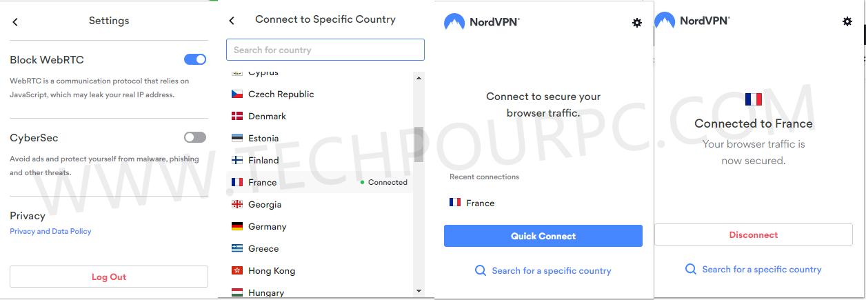NordVpn pour Chrome, Télécharger NordVpn Chrome