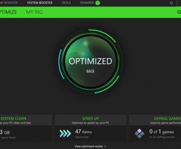 Razer Cortex: Game Boost, Optimiser jeux PC windows 10