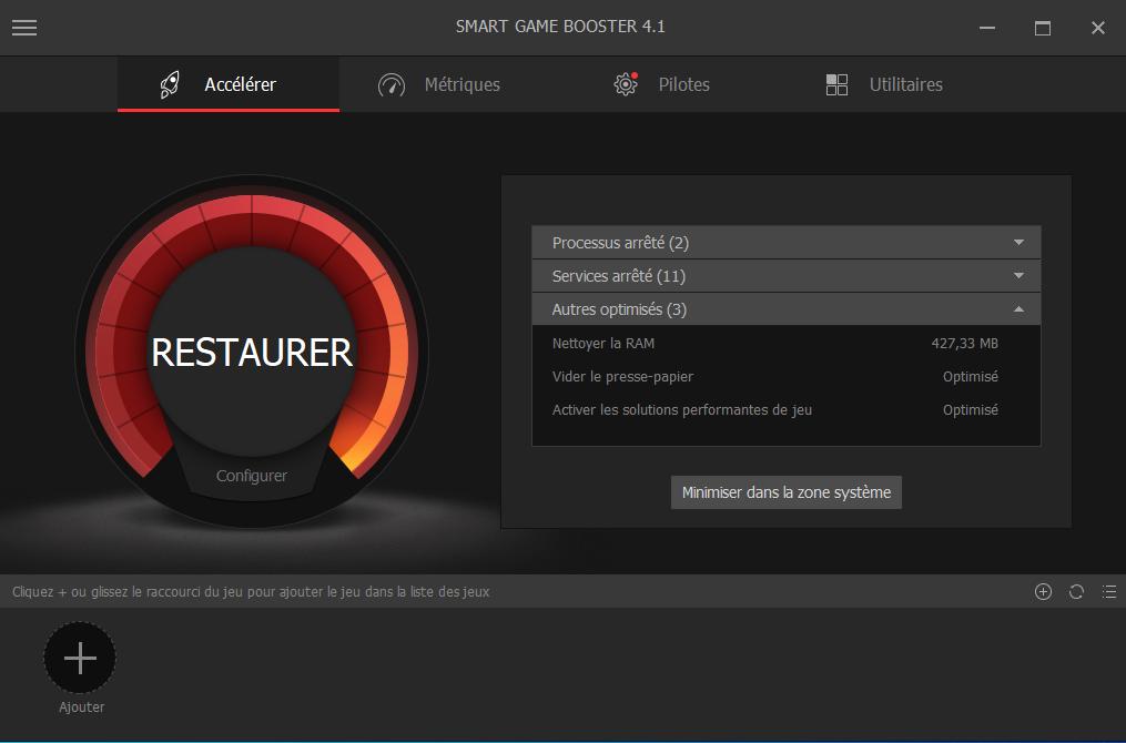 Smart Gme Booster, Télécharger Smart Gme Booster, Accélérer performances de jeux