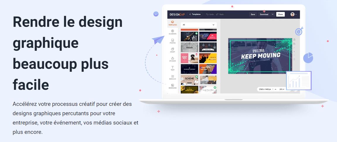 DesignCAP, outil de création infographie