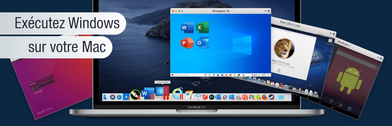 Parallels, executer windows sur mac