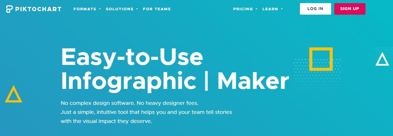 Piktochart Easy-to-Use infographique Maker, Création Infographie gratuit en ligne