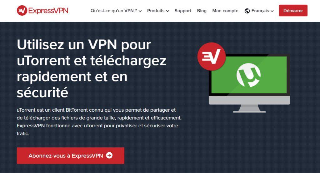 ExpressVpn pour uTorrent