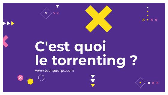 Qu'est-ce que le torrent ?, Torrent définition, c'est quoi le torrenting