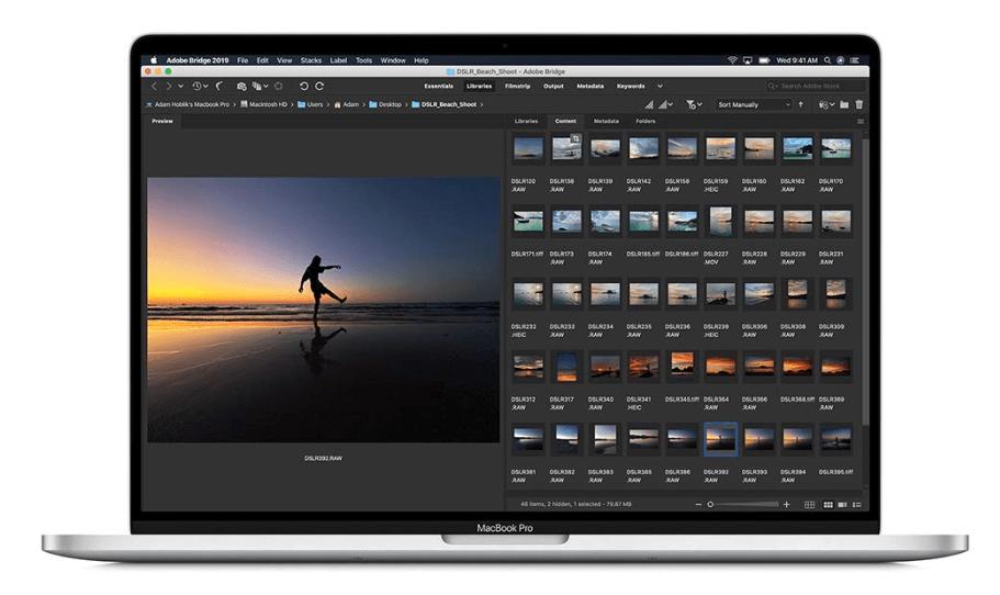 Apple Macbook Pro 2019, PC pour retouche Photos