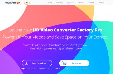 Wonderfox HD Video Converter Factory Pro Avis